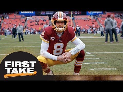 First Take debates what will make Kirk Cousins trade to Vikings a bust | First Take | ESPN