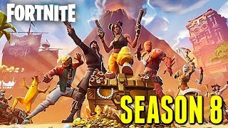 "Fortnite: Battle Royale ""Season 8"" Gameplay Update - Fortnite ""Season 8: Battle Pass"" Live"
