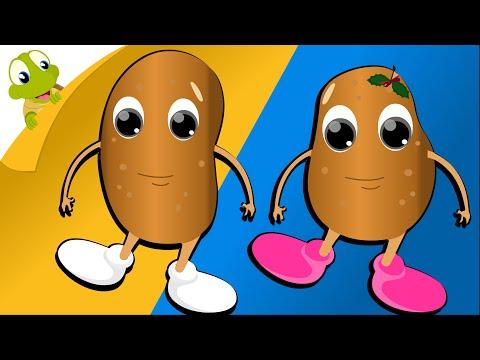One potato Two potato Nursery Rhyme