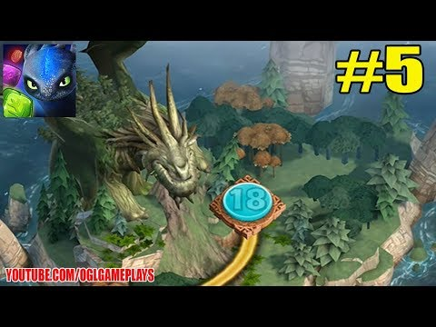 Dragons: Titan Uprising #5 Level 18 Boss (by Ludia Inc) Android Gameplay Walkthrough
