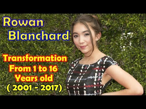 Rowan Blanchard transformation from 1 to 16 years old
