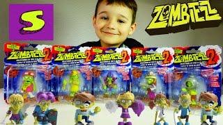 ЗОМБИ 2 игрушки ПРИКОЛ ZOMBIEZZ 2 figures