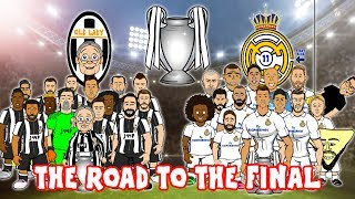 🛣️⚽THE ROAD TO CARDIFF - 2017 CHAMPIONS LEAGUE FINAL!⚽🛣️ Juventus vs Real Madrid 1-4