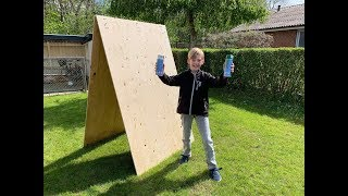 Diy Graffiti Wall   Learn How To Make Your Own Homemade And Foldable Wall For Graffiti Projects