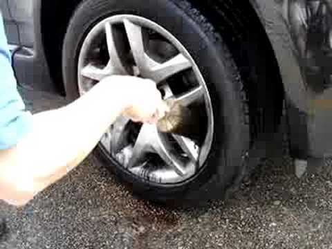 cleaning bmw rim
