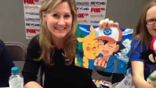 Shoutout From Veronica Taylor (Ash Ketchum) From Pokemon