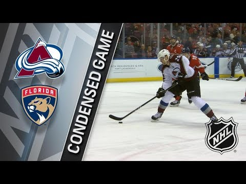 Colorado Avalanche vs Florida Panthers – Dec. 09, 2017 | Game Highlights | NHL 2017/18. Обзор матча