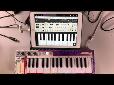 Composing Electronic Music Without Using Chords - NanoStudio 2 & SynthMaster One - iPad Live