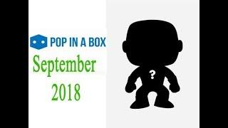 Pop In A Box September 2018