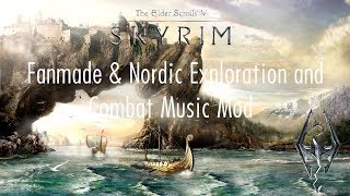 Skyrim SE Mod: Fanmade & Nordic Exploration and Combat Music Mod (Lore-Friendly)