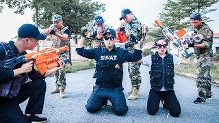 LTT Nerf War : SEAL X Warriors Nerf Guns Avengeful Intrusion Fight Attack Criminal Group