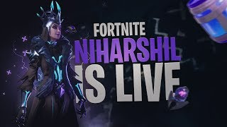Fortnite India Live | Let's Play Arena | USE CODE-NIHARSHIL-YT