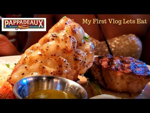 Lets Eat At Pappadeaux!! My 1st Vlog