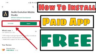 How to Install Audio Evolution Mobile Apk Paid Free
