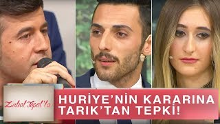 Zuhal Topal'la 216. Bölüm (HD) | Huriye'nin Mustafa ile Aldığı Karara Tarık'tan Tepki!