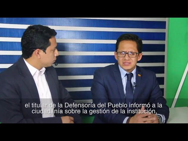 Visita del Defensor del Pueblo a la provincia de Los Ríos