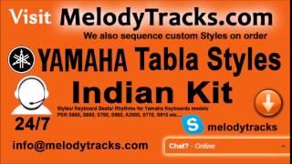 Mahima Mahima Ho Teri Yamaha Tabla Styles Indian Kit PSR S550, S650, S750, S950, A2000, S710,