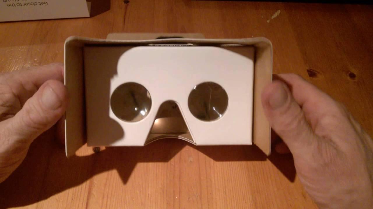 a2231b484f3 Sky VR Google Cardboard VR Headset review - YouTube