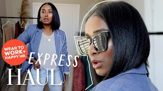 Express Try On Haul | FROM WORK TO HAPPY HOUR!