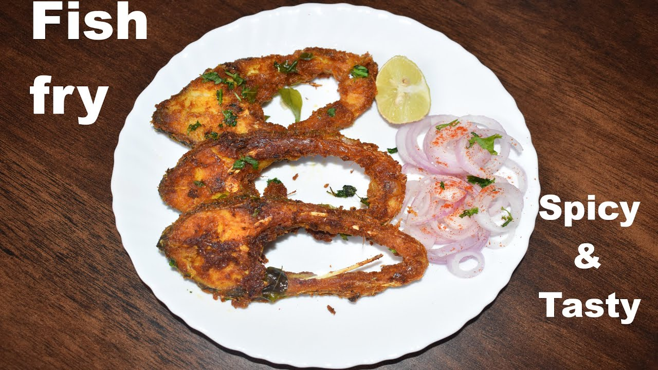fish fry recipe | andra style spicy fish fry recipe