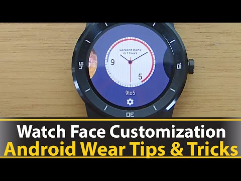 Watch Face Customization
