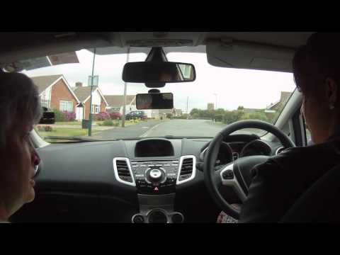 Jemma - turn in the road, left reverse, emergency stop, part 1