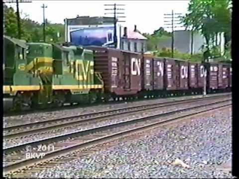 Conrail and The Central Vermont in Palmer, MA
