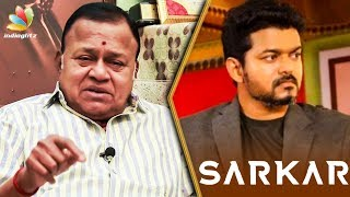 Vijay's Sarkar Will Have a Strong Impact on Society : Radha Ravi Interview   Simtaangaaran