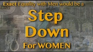 Equality: A Step Down for Women?