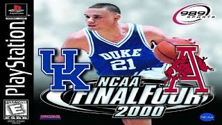 NCAA Final Four 2000 PlayStation Gameplay - Kentucky @ Arkansas