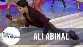 Ali Abinal shows his hidden talent | TWBA