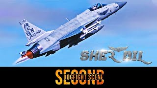 Sher Dil (2019) | Second Dogfight Scene