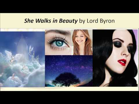 POETRY REVISION: She Walks in Beauty