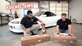 We're Building an AWD Integra! (Diff/Trailing Arm Install)