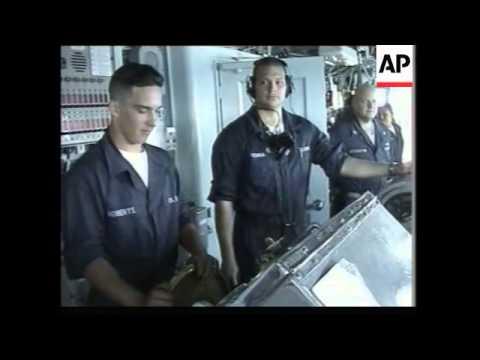 Activity aboard USS Mount Whitney on anti-terrorism mission