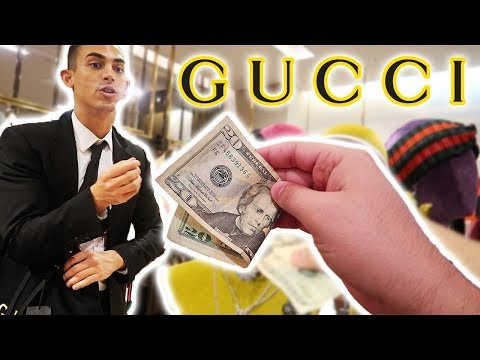 WHAT CAN $20 GET ME AT GUCCI?