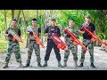 LTT Game Nerf War : Mission Impossible Winter Warriors SEAL X Nerf Guns Fight Bandit Weapons