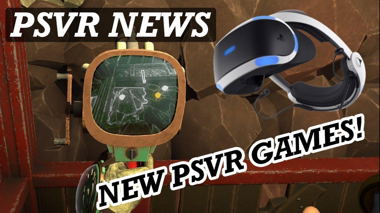 Psvr News Very Good New Psvr Games Announced New Psvr