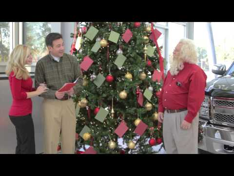 2012 Love Chevy Christmas Cash  Tree