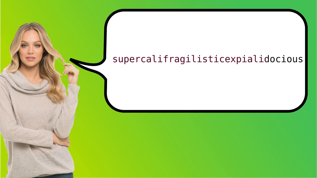 how to say supercalifragilisticexpialidocious in french youtube