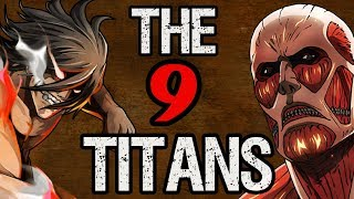 All Nine Titans & Their Shifters - Attack on Titan Discussion | Tekking101