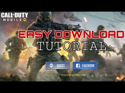 CALL OF DUTY MOBILE Download Tutorial