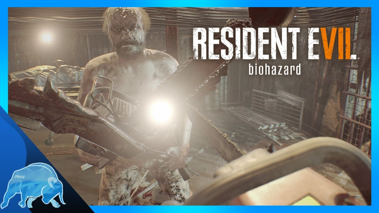 Resident Evil 7 How To Kill Jack Baker With Chainsaw Youtube