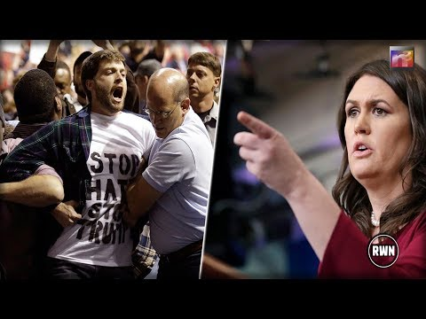 Vicious Attacker Comes After Sarah Sanders Calling Her A Redneck, Her Response Is PRICELESS!