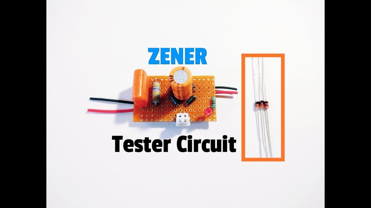 Zener Diode Tester Circuit Test Gears Circuits Schematics