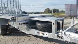 Mazzo.pl- Przyczepa Brenderup MT2600