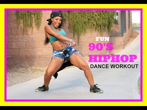 FUN HipHop Dance workout (90's) with Keaira LaShae