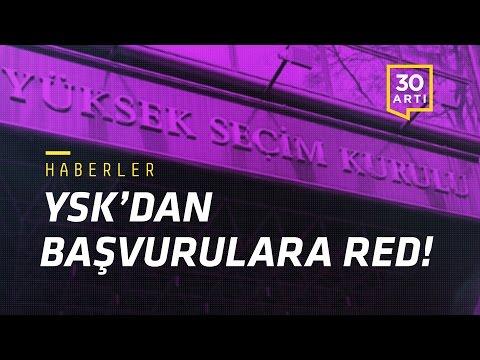 YSK'dan başvurulara red - Ankara'da 'eşkıyalık' - Moody's'ten uyarı - Adliyede rüşvet | Haberler