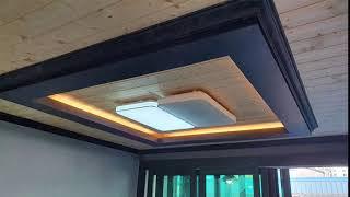 진주신안동 LED거실등 조명시공