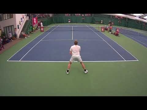 Raheel Manji (Indiana) vs #59 Alex Brown (Illinois) NCAA College Tennis